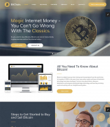 Crypto Currency Exchange And Mining Website Html Template