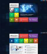 4 Communication web template