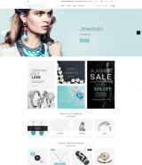 """Jewelry Store"" responsive OpenCart Template"