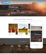 Agriculture - Natural Farming Clean Joomla Template