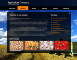 Agriculture Co. web template