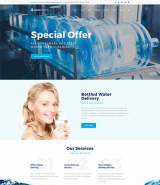 AichTwoOh - Water Delivery Service Responsive WordPress Theme