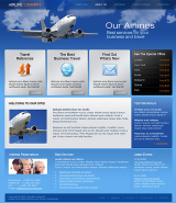 Airline web template