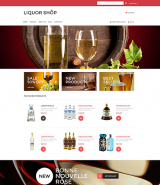 Alcoholic Drinks VirtueMart Template