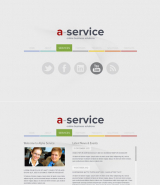 Alpha Service web template