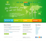 Alternative power v2.5 web template