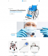 Amkorte - Medical Equipment Store OpenCart Template