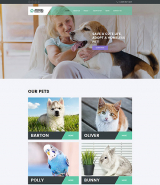 Animal Shelter Joomla Template