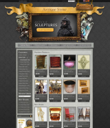 Antique Store v2.3 web template