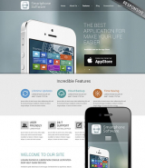 Application developer web template
