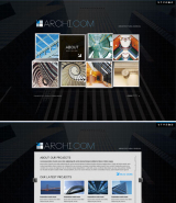 Architectural web template