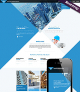 Architecture web template