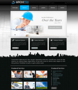 Architex v2.5 web template