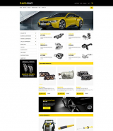 """Auto Parts"" online store OpenCart template"