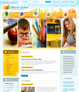 Back to school v2.5 web template