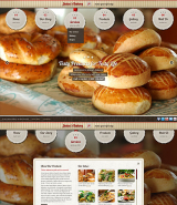 Bakery and Cakes web template