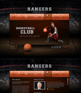 Basketball Club web template
