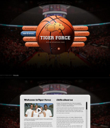 Basketball Game web template