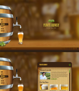 Beer Company web template