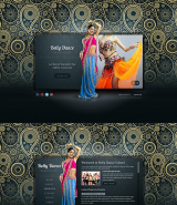 Belly Dance web template