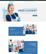Big Cleanup - Cleaning Services Responsive WordPress Theme