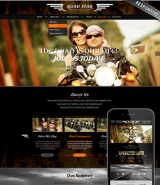 Bikers club web template