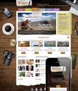 Blogger web template
