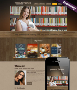Book Writer web template