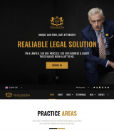 """King Law"" bootstrap 4 HTML web template for jurist"