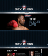 Boxing Club web template