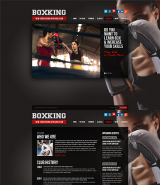 Boxing web template