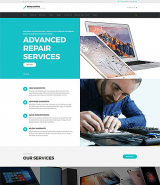 BrilliantFix - Service Center Website Template