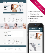 Brooch Jewellery - Responsive OpenCart Template