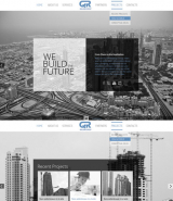 Building Company web template