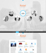 Business Circles web template