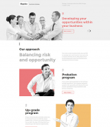 Business Responsive Landing Page Template