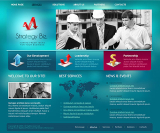 Business Strategy web template
