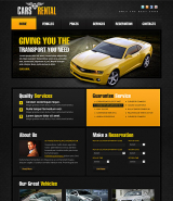 Car Rent web template