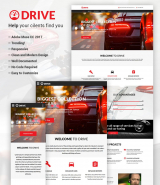 """Car Repair and Tuning"" Muse Template"