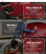Car Repair Facility Website Template
