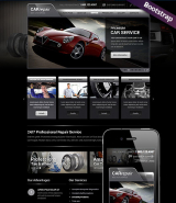 Car Repair Service web template