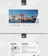 Cargo Transportation web template