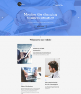 Cerulex Landing Page Template
