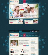 Child School web template