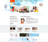 Children Care web template