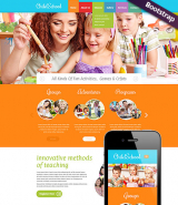 Children School web template