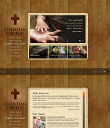 Christian Church web template