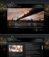 City Life web template