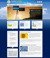 Clean Power v2.5 web template