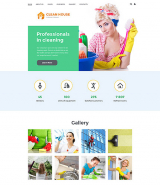 Cleaning Company Joomla Template
